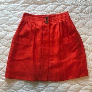 🌟FINAL SALE🌟 J. Crew Linen Lined Skirt
